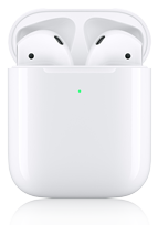 Apple AirPods Bluetooth (2019) mit kabellosem Ladecase