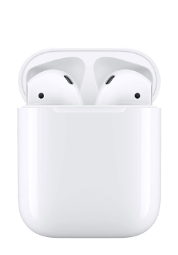 Abbildung Apple AirPods Bluetooth (2019) mit Ladecase