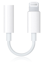Apple Lightning auf 3,5mm Audio Adapter