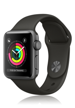 Abbildung Apple Watch Series 3 Aluminium