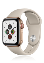 Apple Watch Series 5 Edelstahl Cellular