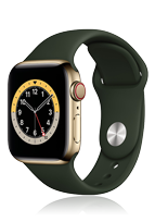 Apple Watch Series 6 Edelstahl Cellular
