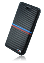 BMW Book Case Carbon Inspiration Tricolor Stripe Horizontal