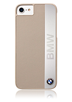 BMW Hard Cover Aluminium Plate Genuine Leather