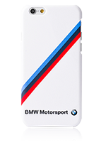 BMW Hard Cover Diagonal Tricolor Stripe Glossy