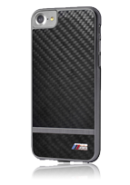 BMW Hard Cover Satin Aluminium Stripes