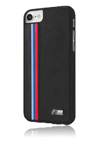 BMW Hard Cover Tricolor Stripe Vertical