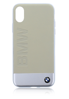 BMW Hybrid Cover Genuine Leather-Sand Blasted Aluminum Plate