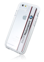 BMW Transparent Horizontal Logo Soft Cover