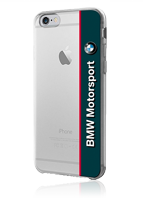 BMW Transparent Vertical Logo Hard Cover