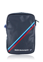 BMW Travel Bag 9-10 Zoll Diagonal Tricolor Stripe