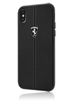 Ferrari Hard Cover W vertical contrasted stripe