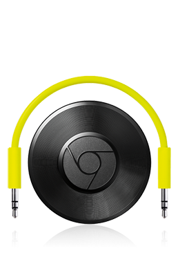 Abbildung Google Chromecast Audio