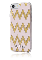 GUESS Soft Cover 3D Effect Stripes Chevron