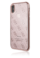 GUESS Soft Cover 4G Transparent