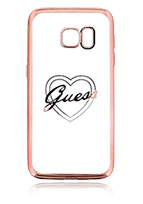GUESS Soft Cover Heart Transparent