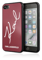 Karl Lagerfeld Hard Cover Signature Glitter