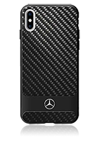 Mercedes-Benz Hard Cover Real Carbon Fiber Aluminium Stripes