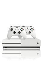 Microsoft Xbox One S inkl. 2 Controller