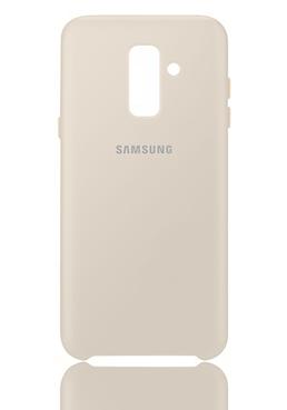 Samsung Dual Layer Cover Gold Fur Samsung A605f Galaxy A6 Plus