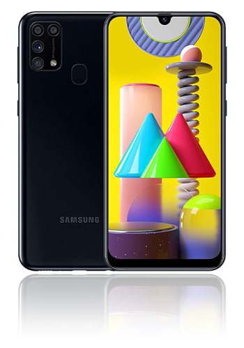 Samsung Galaxy M31 Dual-SIM 64GB, Black, M315