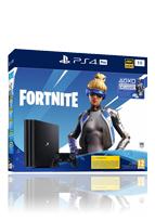 Sony PlayStation 4 Pro inkl. Fortnite, 2000 V-Bucks