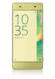 Sony Xperia XA 16GB, lime-gold