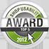 handytick.de ist einer der TOP-5 Sieger beim Shop Usability Award 2012 von Shoplupe.